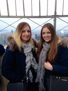 New Years Day in New York City at the Empire State Building