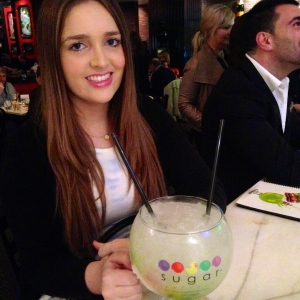 Cocktails at the Sugar Factory in Las Vegas