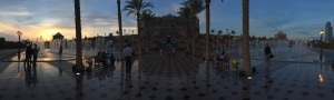panorama of the Emirates Palace