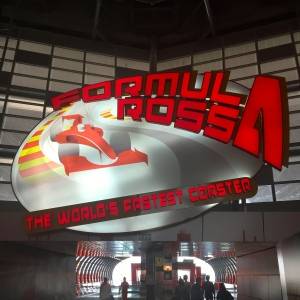 I rode the world's fastest roller coaster at Ferrari World Abu Dhabi
